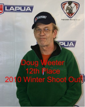 12th Place Doug Weeter