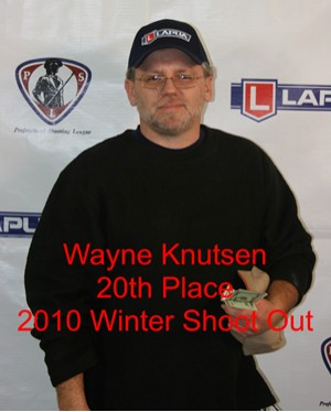 20th Place Wayne Knutsen