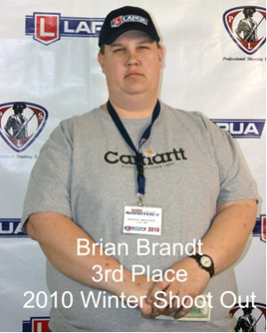 3rd Place Brian Brandt