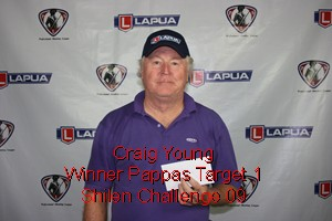 Pappas Target 1 Winner Craig Young